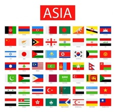 Asia_flags